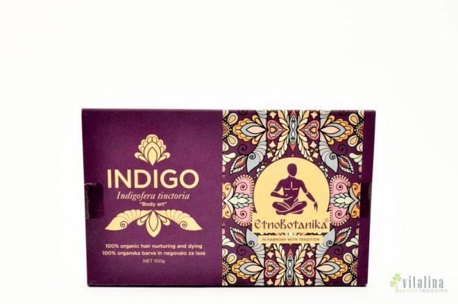 INDIGO - 100% naravno rastlinsko barvilo Etnobotanika (100g)